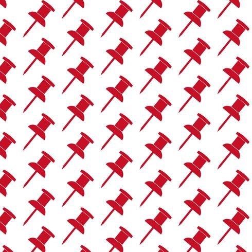 push pin pattern background vector