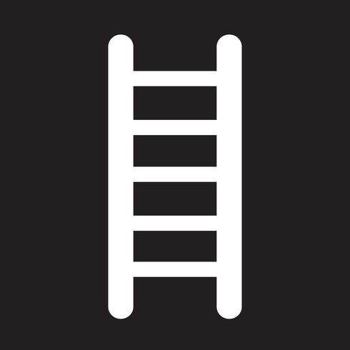 ladder icon  symbol sign vector