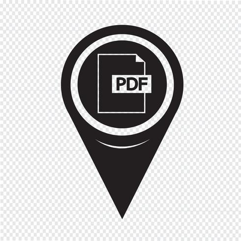 Mapa del puntero PDF Icon