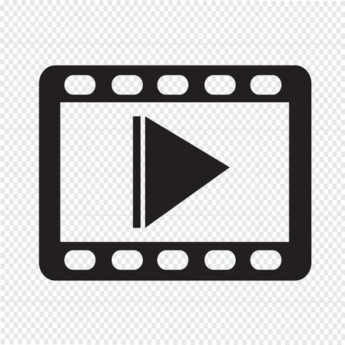 video icon  symbol sign