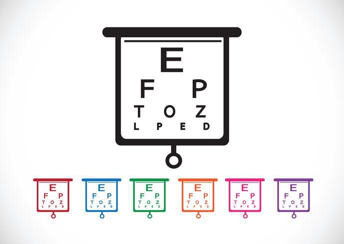 Illustrazione della prova del diagramma di occhio