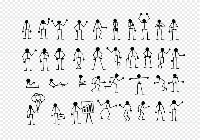 People actions Sign Symbol Pictogram vector