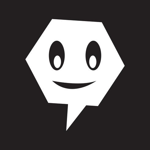 talking speech bubble icon