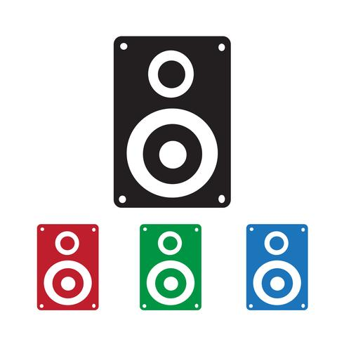 Icona di altoparlanti audio