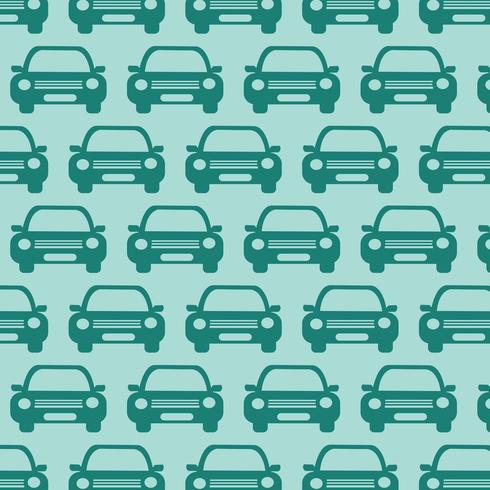Car Pattern Background vector