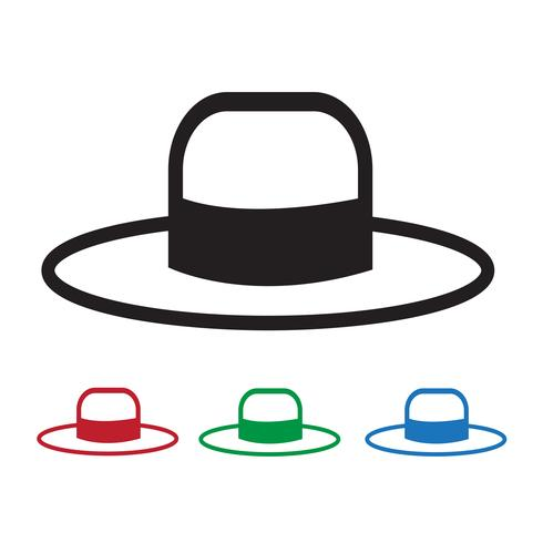 Hat Icon  symbol sign vector