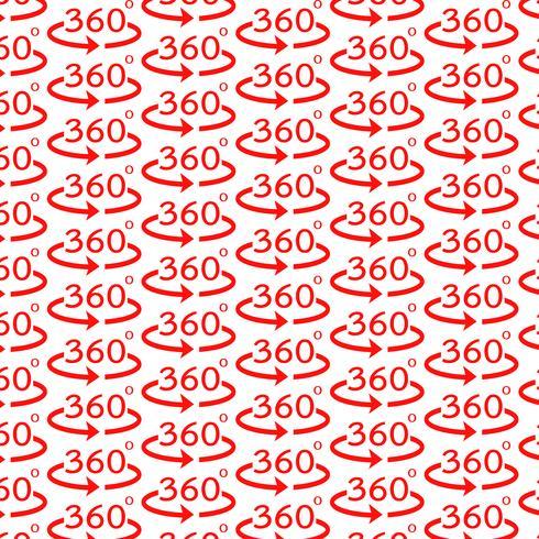 Priorità bassa del modello Icona di angolo di 360 gradi