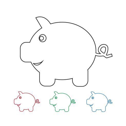 Icona del porcellino salvadanaio