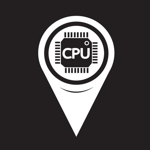 Map Pointer CPU-ikonen