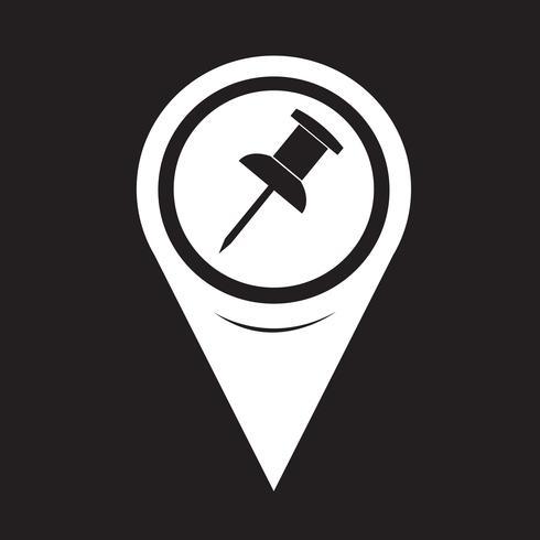 Kartpekaren ikon