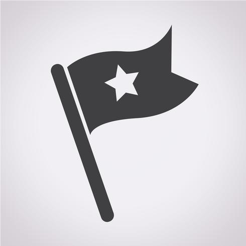 flag icon  symbol sign