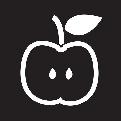 Signe symbole icône Apple
