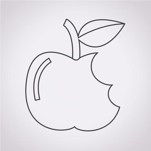 Apple ikon symbol tecken
