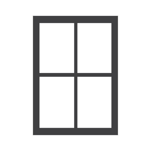 ícone de janela sinal de símbolo