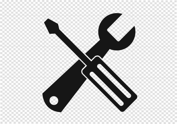 Ícone de ferramentas sinal de símbolo