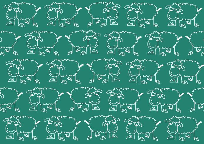 cartoon de ovelhas sinal de símbolo