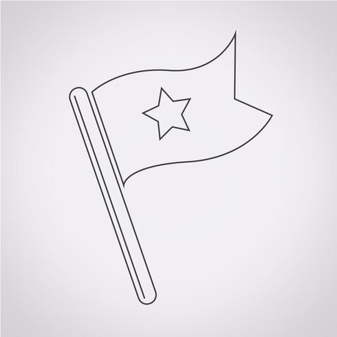 bandera icono símbolo signo