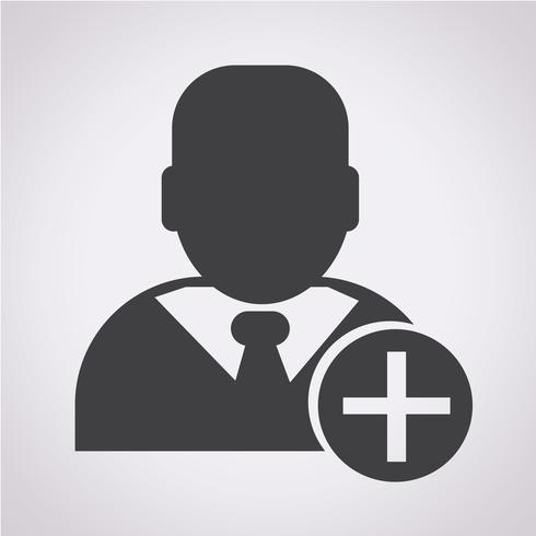 Businessman icon  symbol sign