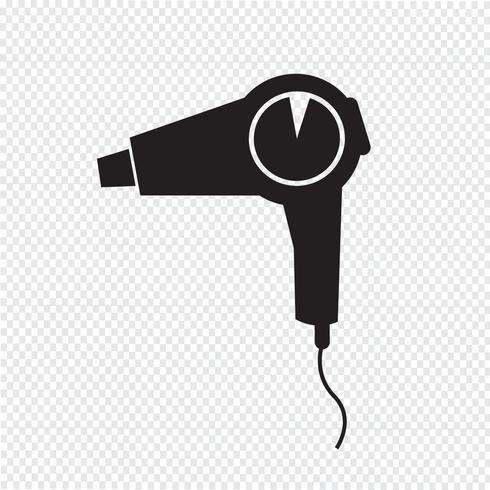 asciugacapelli icona simbolo segno