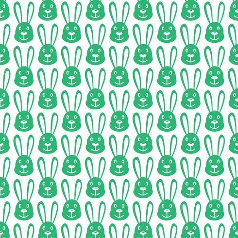 Icona del coniglietto sfondo modello