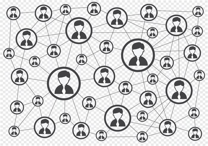 Conexão de rede sinal de símbolo