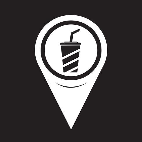 Mapa de icono de bebida puntero