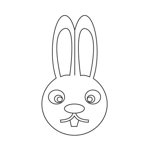 icona di coniglio