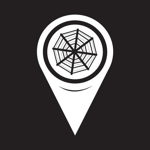 Map Pointer Web net-Symbol