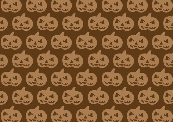 Halloween Pumpkin Background vector