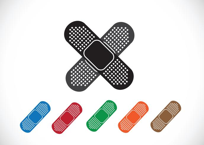 illustration of medical bandage vector