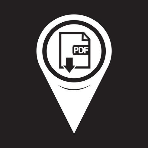 Kaartaanwijzer PDF-pictogram