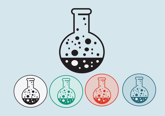 Laborgeräte-Icon-Set