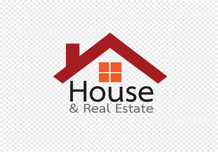 Husikon och fastighetsbyggnad abstrakt design