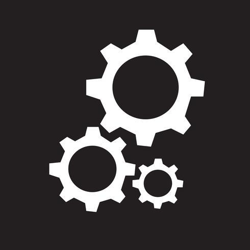Växel ikon symbol tecken