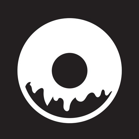 Donut pictogram symbool teken