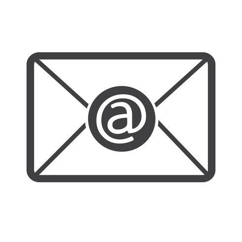 Icone De Symbole De Courrier Electronique Telecharger Vectoriel Gratuit Clipart Graphique Vecteur Dessins Et Pictogramme Gratuit