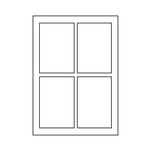 venster pictogram symbool teken