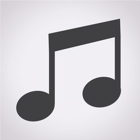 ícone de nota de música