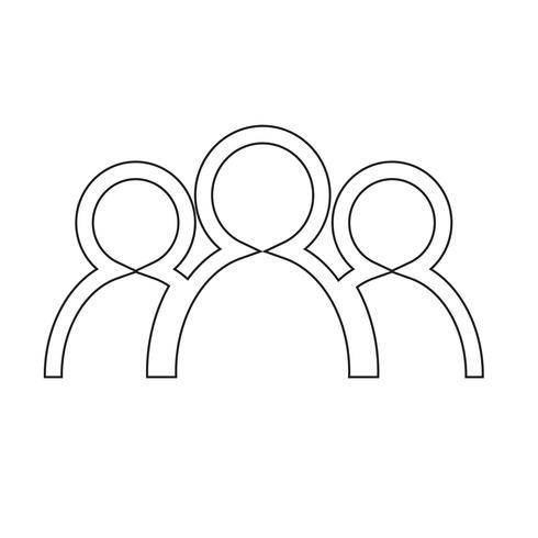 groep mensen pictogram