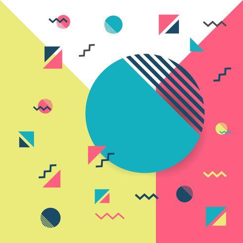 hipster geometrische achtergrond