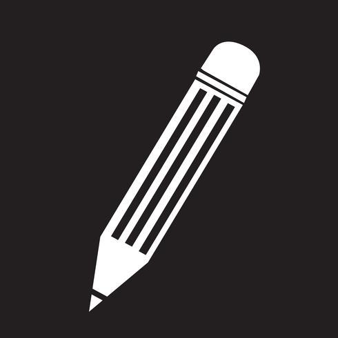 Penna ikon symbol tecken vektor