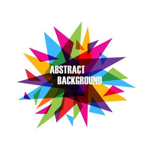 abstracte driehoeksachtergrond