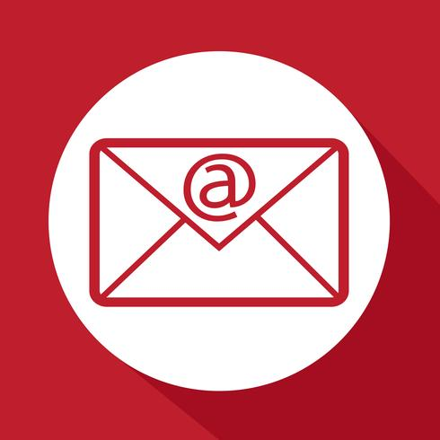 icono de símbolo de correo electrónico