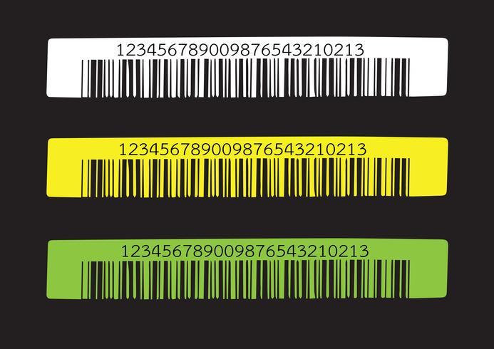 Codice a barre. illustrazione vettore