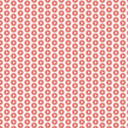 Pattern background Play icon button