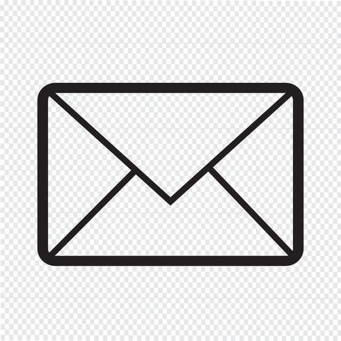 e-mail symboolpictogram