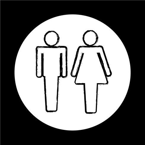 man och dam People-ikon