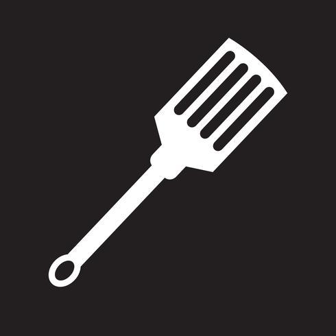 kitchen spatula icon vector