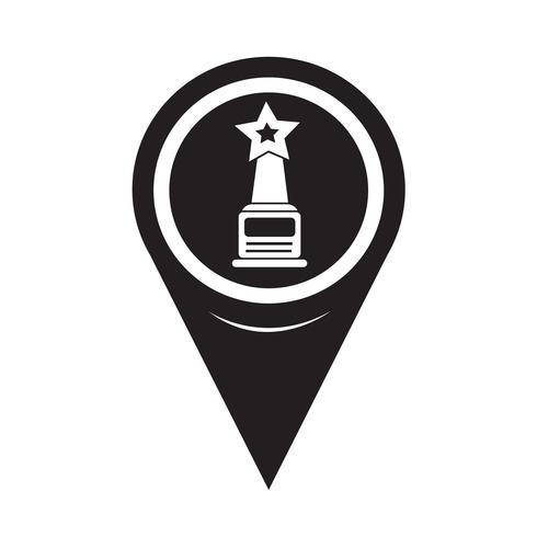 Karta Pointer star award icon