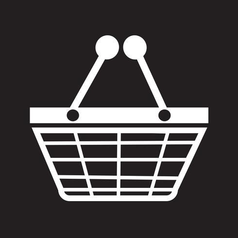 Shopping ikon symbol tecken